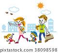 家庭旅行出去 38098598