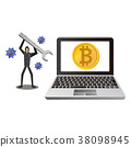 bitcoin, virtual currency, cryptocurrency 38098945