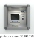 Atm machine on wall 38100059