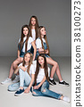 girl, woman, group 38100273