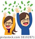 Happy Money Couple 38102871