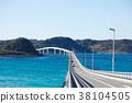 角岛大桥 海洋 海 38104505