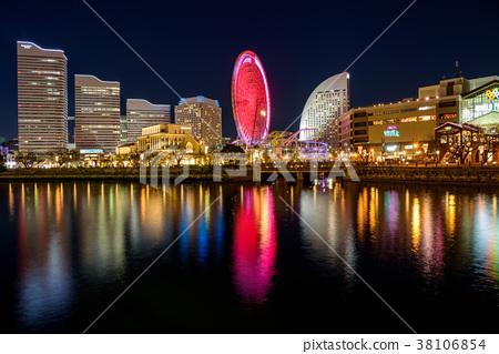 橫濱港未來的夜景 38106854