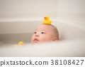 입욕, 아기, 갓난 아기 38108427