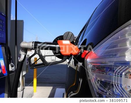 Gasoline refueling image 38109571