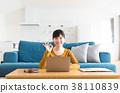 집 컴퓨터 여성 38110839