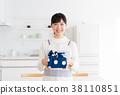 午餐盒妻子妻子家庭主婦的妻子 38110851