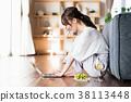 一位年輕女士(個人電腦) 38113448