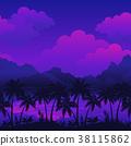 Exotic Seamless Landscape 38115862