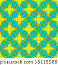Seamless Abstract Pattern 38115989