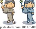 kimono, male, man 38116580