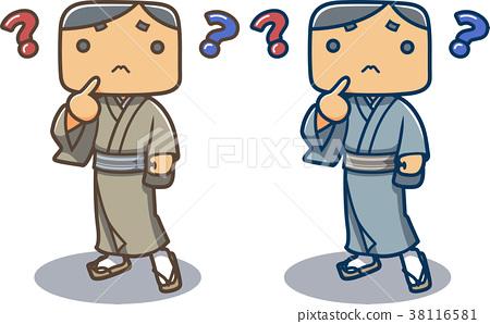 kimono, male, man 38116581