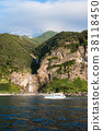 View from Shiretoko Sightseeing Boat Waterfall in Kamuiwakka 38118450