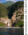 View from Shiretoko Sightseeing Boat Waterfall in Kamuiwakka 38118453