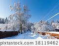 Beautiful winter landscape 38119462