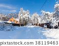 Beautiful winter landscape 38119463