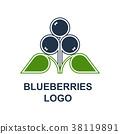 藍莓 漿果 水果 38119891