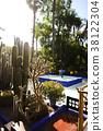 摩洛哥马拉喀什Yves Saint Laurent法国摩洛哥仙人掌中东花园仙人掌花园 38122304