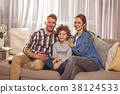 family, couch, home 38124533