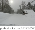 snowy road, winter, road 38125052