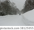 snowy road, winter, road 38125055