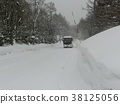 snowy road, winter, road 38125056