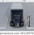 卡車 快速充電 黑色 38126976