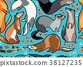 pattern, background, animals 38127235