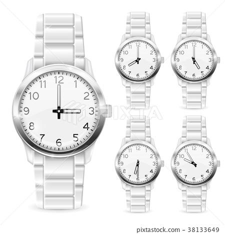 Men watch with metal bracelet 38133649