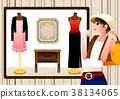購物 女子 女性 38134065