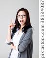 대학생, 젊은여자, 한국인 38134087