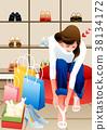 購物 鞋 裝飾板 38134172