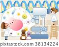 연구, 실험기구, 현미경 38134224