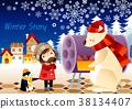 冬天 季節 季節性 38134407