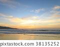 노을, 바다, 해변 38135252