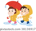 younger, rainwear, pool of water 38136917