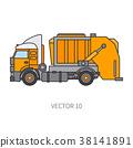 garbage trash trailer 38141891