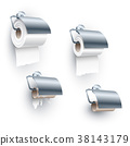 Toilet Paper Roll Spindle Position Under Set 38143179