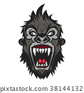 Gorilla head vector 38144132
