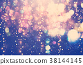 Beautiful abstract shiny light background 38144145