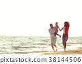 family beach happy 38144506