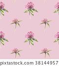 watercolor, clover, flower 38144957