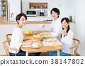 父母和小孩 親子 進餐 38147802