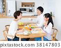 父母和小孩 親子 進餐 38147803