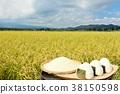 秋天米领域和碗米饭团 38150598