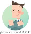 company employee, office worker, salaryman 38151141