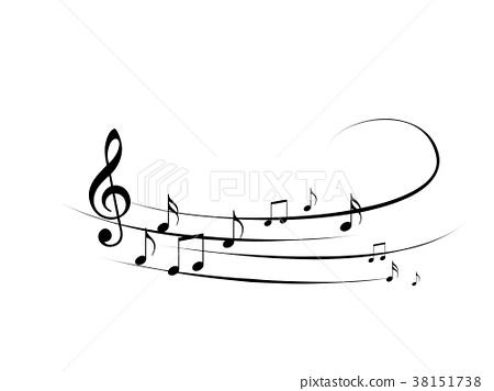 音樂譜表樂譜音樂樂譜 38151738