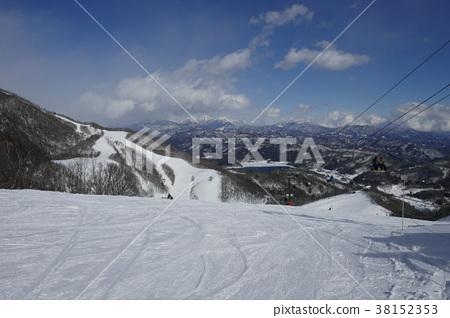 鹿島Sak市滑雪場5號線的風景 38152353