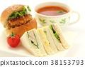 baker, sandwich, sandwiches 38153793