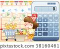 購物 購物車 計算機 38160461